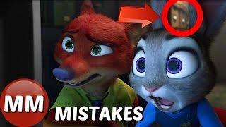 Disney Zootopia MOVIE MISTAKES You Didn't See    Zootopia Movie