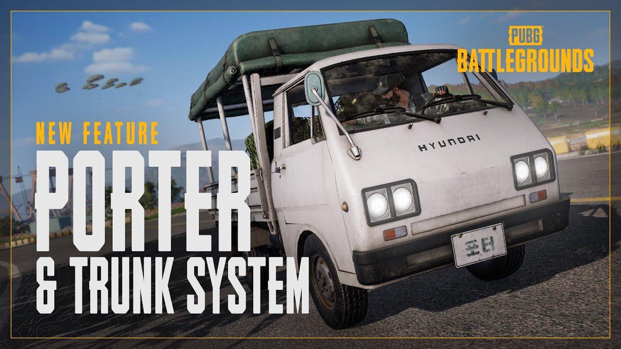 New Feature: Hyundai Porter & Trunk System   PUBG