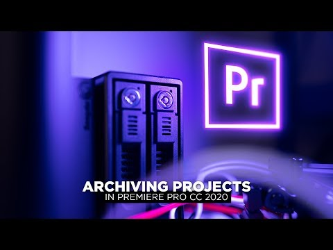 How I archive Premiere Pro projects