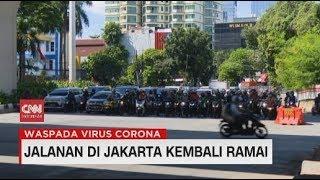 Gambar cover Jalanan di Jakarta Kembali Ramai