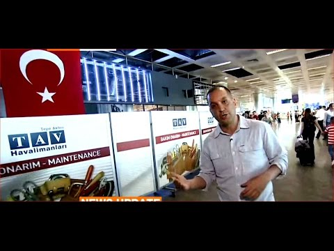 Turkish police beef up airport security after blasts