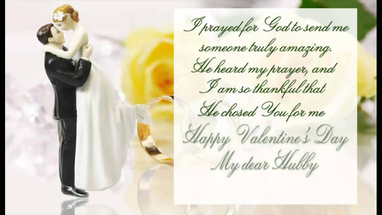 Happy Valentines Day My Dear Hubby Youtube