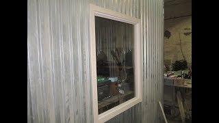 самое простое окно с самодельным стеклопакетом