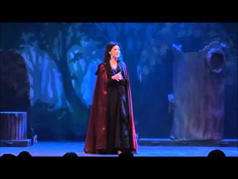 "Courtney Harris Performs Last Midnight From ""Into The Woods"""
