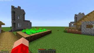 """Mod demonstration: Squake # BUNNY HOP IN MINECRAFT (""""too much for minecraft"""")"""