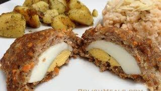 Polish Food - Mini Meatloaves Stuffed With Egg - Polish Cuisine