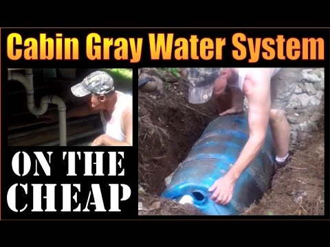 diy-cabin-gray-water-system.-installation-on-the-cheap