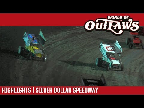 World of Outlaws Craftsman Sprint Cars Silver Dollar Speedway September 9, 2017 | HIGHLIGHTS