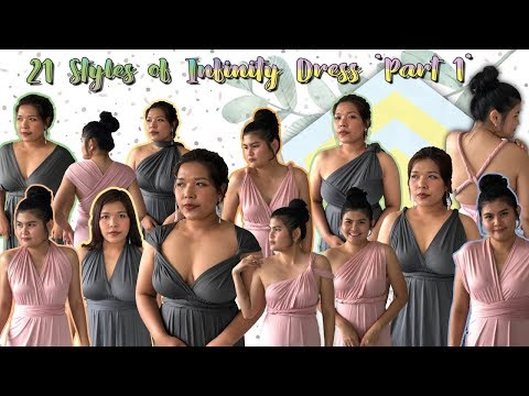 Infinity dress | ชุดราตรี ชุดออกงาน Infinity dress สุดปัง | nanalaNan