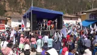 Gran Apertura de campaña de Hector Palomino en Colcabamba - Huancavelica