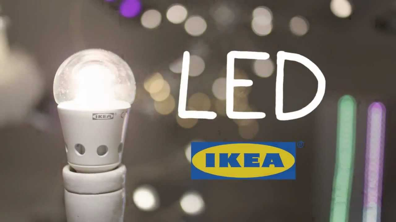 Let 39 s switch to led youtube for Lampade a led ikea
