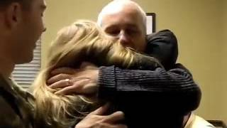 U S  Army Specialist Surprises His Mom  Step Dad for Christmas