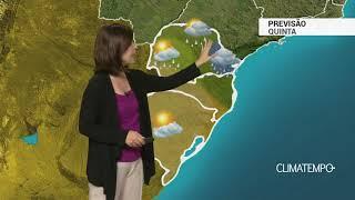 Previsão Sul – Chuva forte no leste do PR