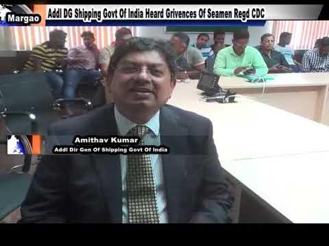 Addl DG Shipping Meeting With Seamen Regd CDC