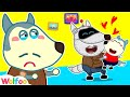 No No, Wolfoo! Robot Daddy Is Not Yours! Who Is the Best Daddy? Wolfoo Channel Kids Cartoon