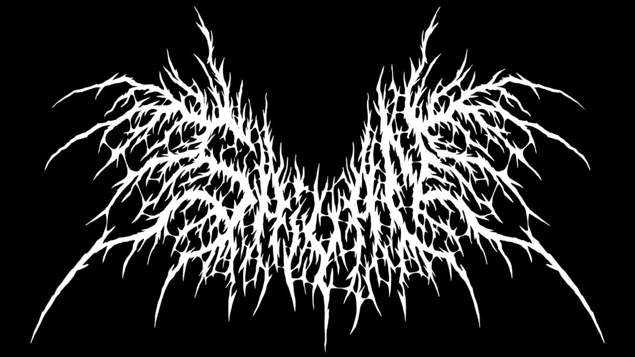 Speed Art - Making Black/Death Metal logo - YouTube