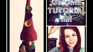 Christmas Ornament: Gnome - No Sewing Required