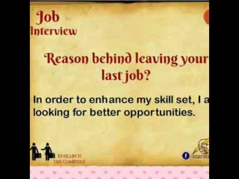 Job Interview Question And Answers   Top 20 Interview Questions For Job  Finders