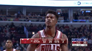 Jimmy G Butler Full Highlights 2015.11.13 vs Hornets - 27 Pts, G Stands For Gets Buckets!