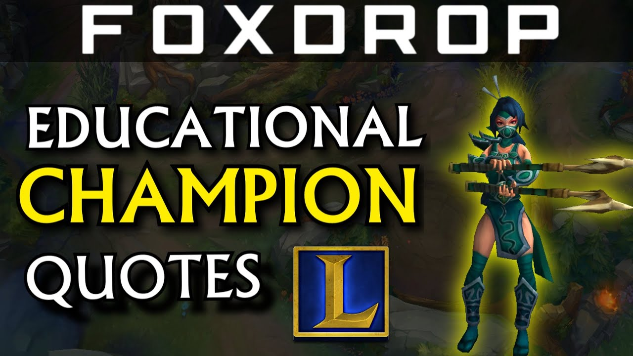 league of legends champion quotes