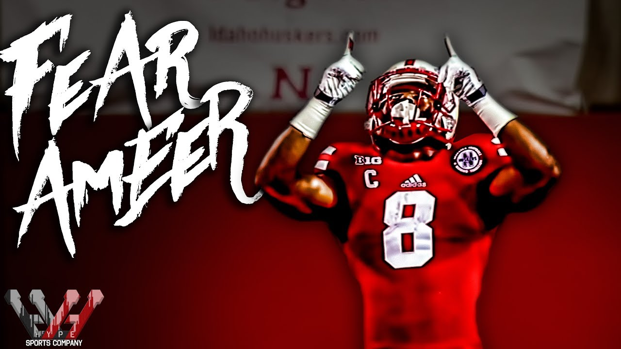 competitive price b9e9d 98fba FEAR AMEER | Husker Running Back Legend: Ameer Abdullah Highlights