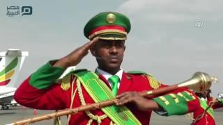 مصر العربية | رئيس جنوب السودان يصل إثيوبيا في زيارة رسمية