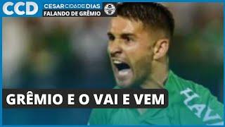 Vai e vem do Grêmio começa a montar o quebra cabeça de Renato