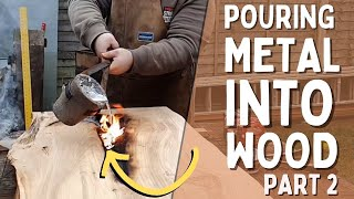 Building My Dream Desk Using Metal And Resin Part 2