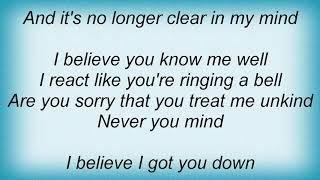 Semisonic - Never You Mind Lyrics