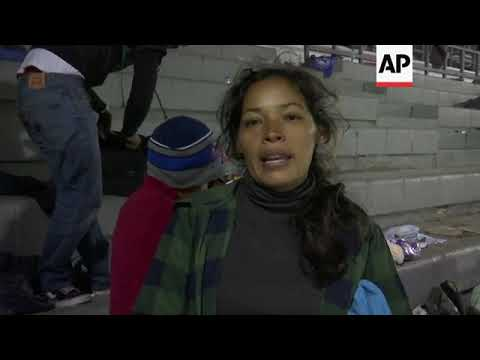 Bulk of migrant caravan departs Mexico City
