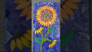 Completed Mosaic Sunflower