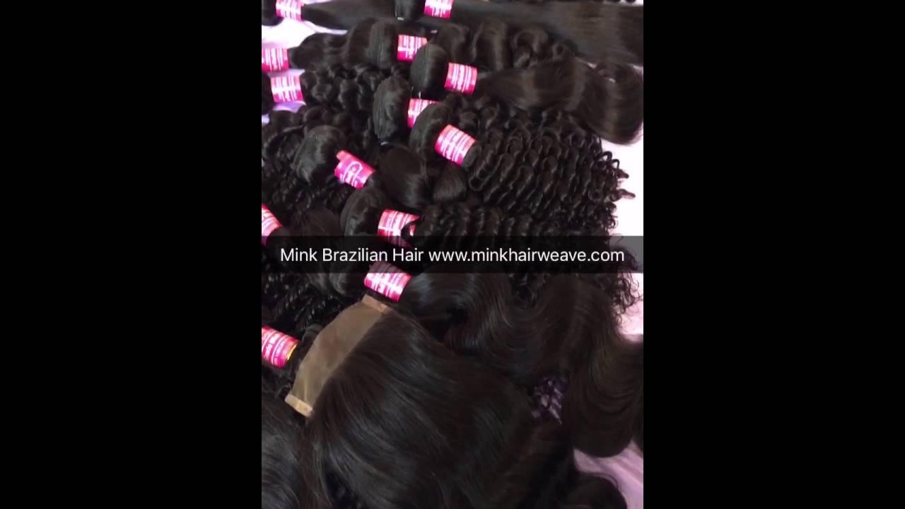 Mink Brazilian Hair Wholesale Mink Hair Vendor Mink Silky Straight