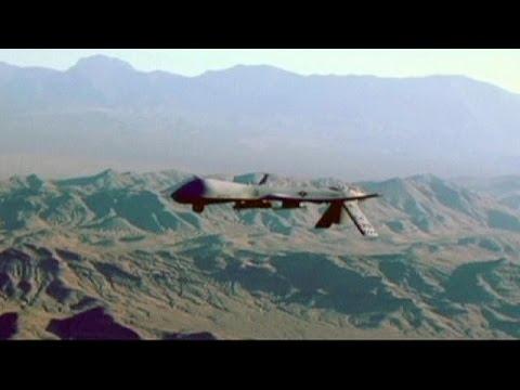 """Германия: авиабаза """"Рамштайн"""" - центр управления американскими дронами"""