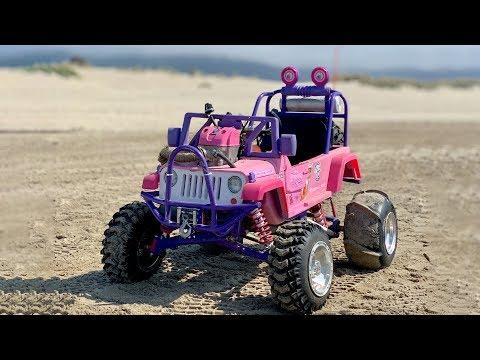 450cc Barbie Jeep Hits The Dunes