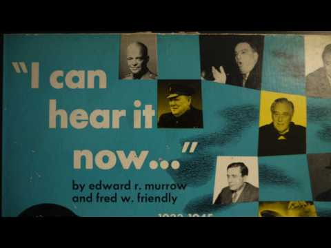 78 RPM -I Can Hear It Now  (1948) -  Radio News Broadcasts 1933-1945
