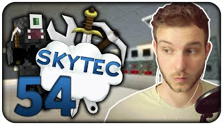 MASCHINENRAUM UNGEBAUT! - Minecraft SKYTEC #54 | Zinus