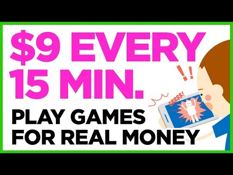 Earn Every 15 Minutes - Play Games For Real Money