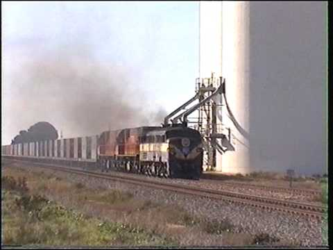 Alco 961 locomotive on Balco.
