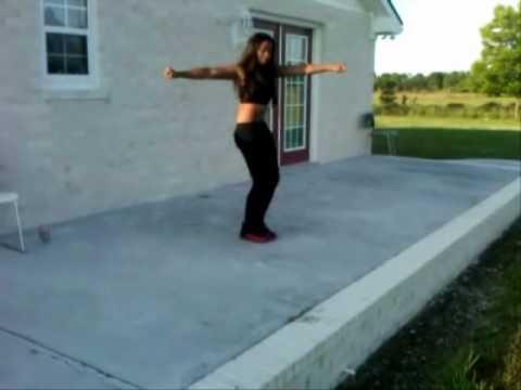 "Me Dancing to Ciara ""Ride it""."