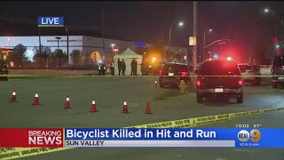 Hit-And-Run Driver Kills Bicyclist In Sun Valley
