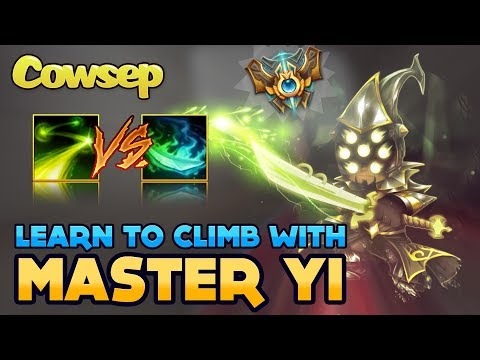 LEARN TO CLIMB WITH MASTER YI - KOREAN CHALLENGER STYLE