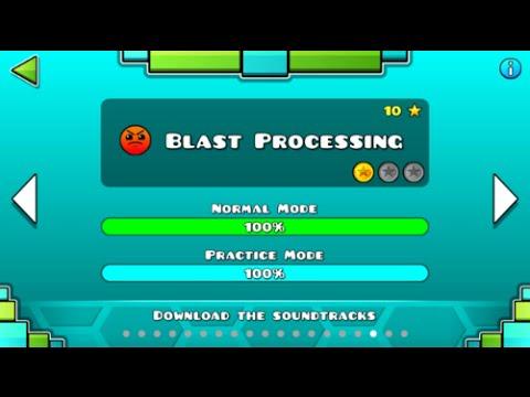 Geometry Dash - Blast Processing 100% Complete