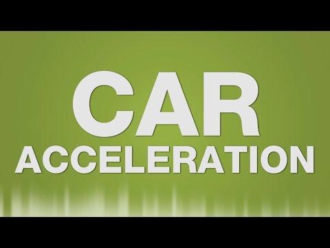 Car Acceleration SOUND EFFECT - Auto beschleunigt fährt ab SOUNDS