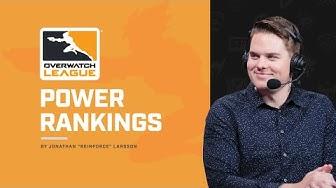 Reinforce's Power Rankings | Overwatch League Week 8