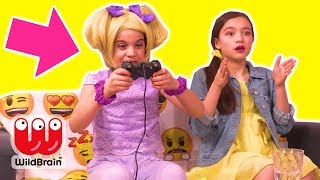 Magic Games Controller Controls People 🎮 Princesses In Real Life | WildBrain Kiddyzuzaa