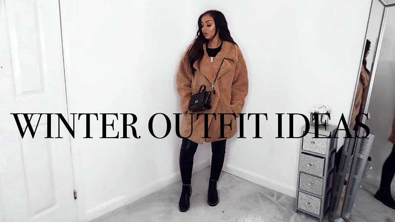 WINTER OUTFIT IDEAS // AFFORDABLE FASHION