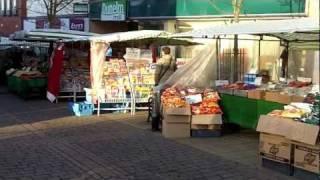 Market Day, Hinckley, Leicestershire