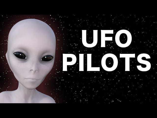 Do Aliens Pilot UFOs?