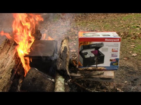 IS A FIRE SAFE ACTUALLY SAFE IN A FIRE?(SURPRISING RESULTS)