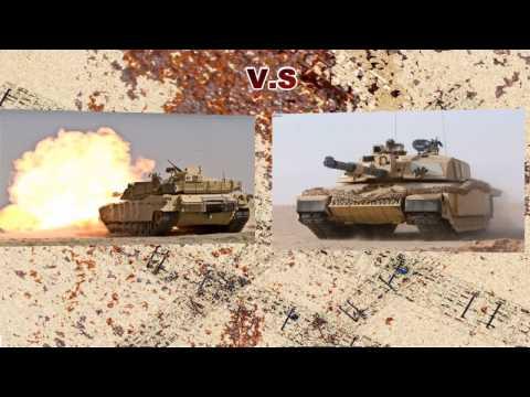 Altay VS T-90 tanklarının karşılaştırılması